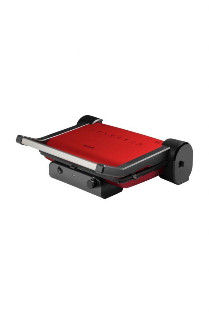 Arçelik K2396 Kırmızı Tost Makinesi